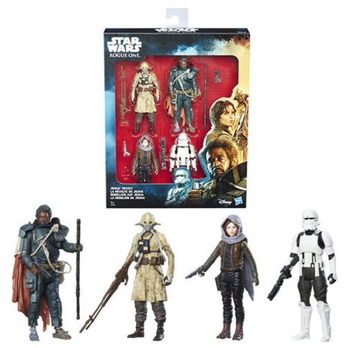 Toy Of The Week Podcast Star Wars Rogue One Jedha Revolt Set