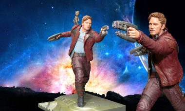 Guardians of the Galaxy Vol. 2 Star-Lord with Groot ArtFX Statue
