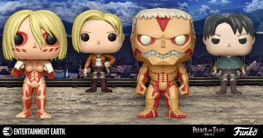 Attack on Titan Pop! Figure Spoilers Ahead!
