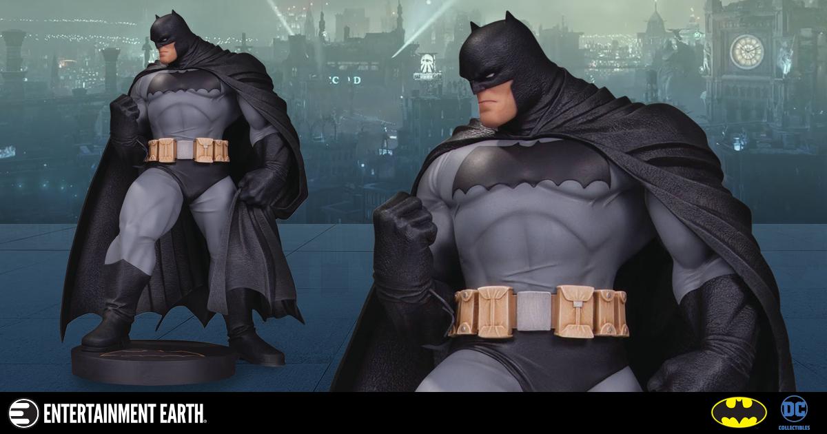 Designer Batman Mini Statue Looking For Vengeance