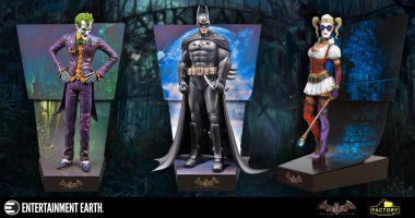 The Inmates Control the Asylum with These Batman Motion Statues
