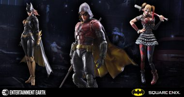 In Stock Right Now! These Batman: Arkham Knight Figures Spring off Their Stands