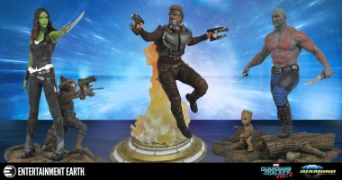 Blast Off with These Guardians of the Galaxy Vol. 2 Statues