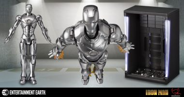 For the First Time Ever! Get This Iron Man Mark II Figuarts Set!