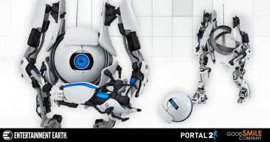 Today, You Will Be Testing with a Partner. This Portal 2 ATLAS Figma Figure Brings the Action.