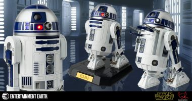 """Oh, Artoo, It Is You!"" Star Wars: A New Hope R2-D2 Chogokin X 12 Perfect Model Kit"