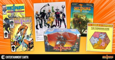 6 Things You Didn't Know about the 1980s Toy – Sectaurs: Warriors of Symbion