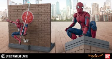 Spoilers! This Spider-Man: Homecoming Figure Is One of the Most Articulate Ever!
