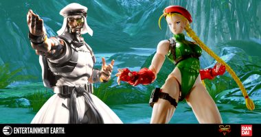 The Fight Rages on with These 2 Street Fighter V Action Figures!