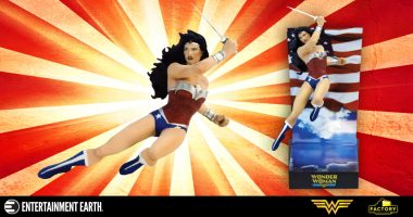 You Won't Believe the Detail in This Wonder Woman Statue