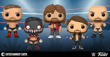 "New Wave of WWE Funko Pop! Figures! One Has a Chase That Will ""Catch Your Breath"""