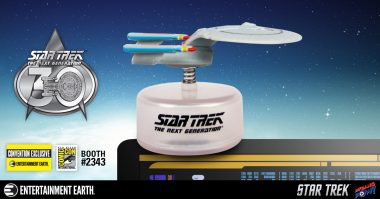 Entertainment Earth SDCC Exclusive Star Trek: TNG Enterprise! Shields up! Red alert!