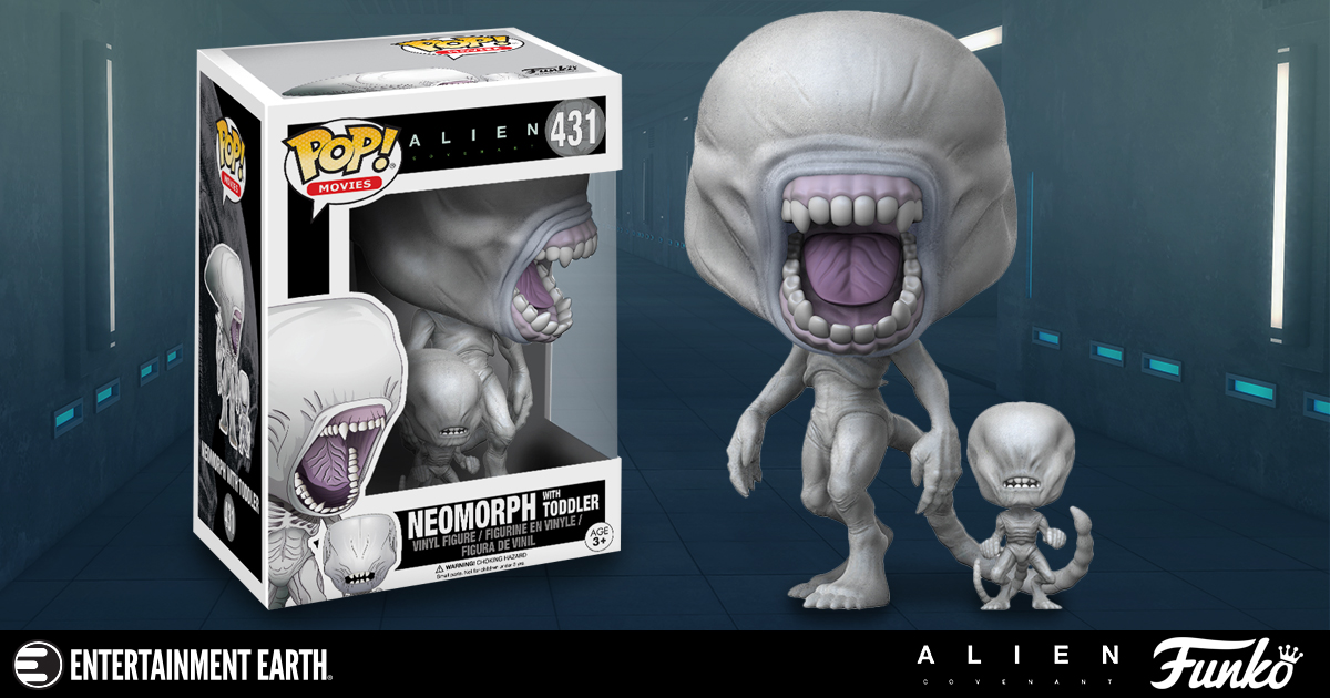 ... Terror of These Neomorph Pop! Vinyl Figures - Entertainment Earth News First Man And Woman On Earth