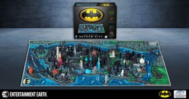 How To Build Your Own Gotham City with This 4D Batman Puzzle
