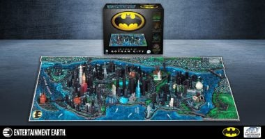 How To: Build Your Own Gotham City with This 4D Batman Puzzle