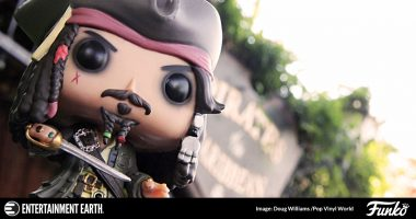 Evolution of Jack Sparrow and the Pirates of the Caribbean Pop! Vinyl Figures