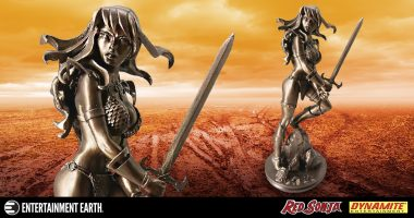 Bronze Red Sonja Statue Is Breathtaking and Extremely Limited