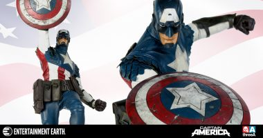 Contemporary Meets Classic with This Ashley Wood Captain America Figure