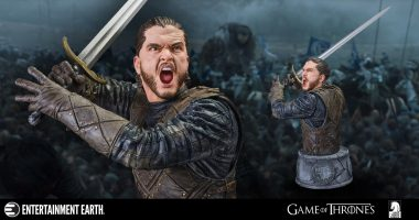 Relive the Fiercest Game of Thrones Battle with This Exquisite Bust