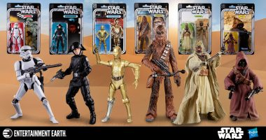 These Vintage Cardback Star Wars Figures are Insane