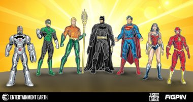 This Justice League FiGPiN Display Case Features All Your Favorite DC Superheroes!