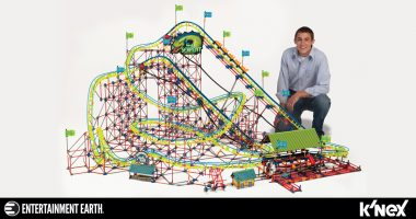 Strap in For a Wild Ride with This K'NEX Son of Serpent Coaster
