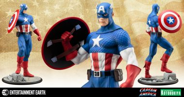 The Marvelous Myth of Captain America Comes to Life as an ArtFX Statue