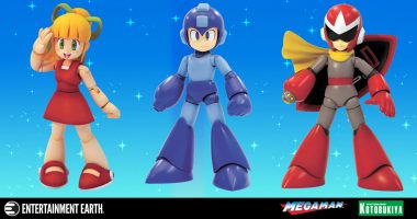 Build Your Own Robots with These Mega Man Model Kits