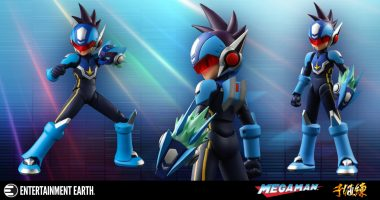 Shooting Star Rockman Is Here in Action Figure Form