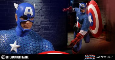 Cap Is Back as a Mezco One:12 Collective Action Figure