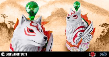 Answer the Call of the Wild with this Gorgeous Okami Amaterasu Life-Size Bust