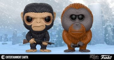 Spoiler! The Apes Prepare for War with These Funko Pop! Figures!