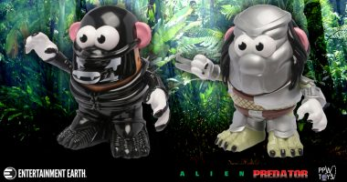 Something You Never Thought You'd See: Alien and Predator Mr. Potato Heads