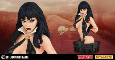Vampirella Black and Blood Variant Bust is Frighteningly Eye-Catching