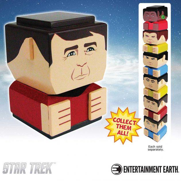 """Star Trek: The Original Series Chief Engineer Montgomery """"Scotty"""" Scott Tiki Tiki Totem"""