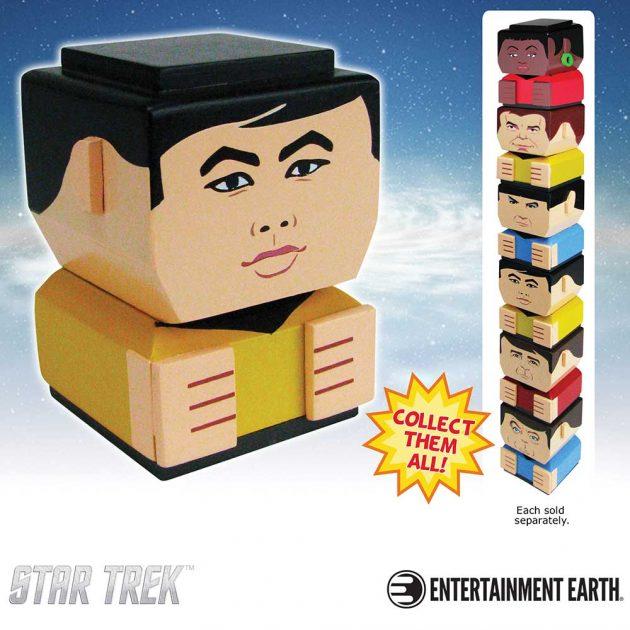 Star Trek: The Original Series Lieutenant Hikaru Sulu Tiki Tiki Totem