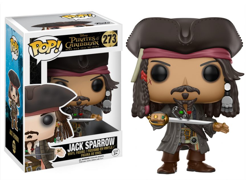 Pirates of the Caribbean: Dead Men Tell No Tales Jack Sparrow Pop! Vinyl Figure