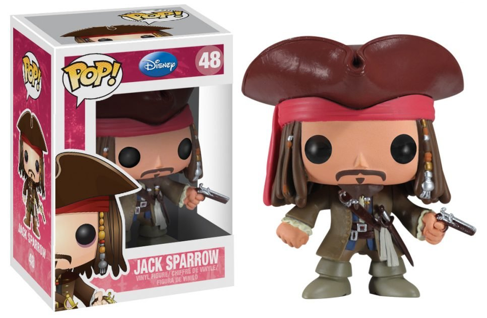 Jack Sparrow Pop! Vinyl Figure