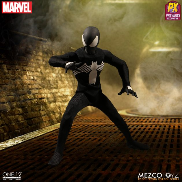 Spider-Man Black Suit One:12 Collective Action Figure - Previews Exclusive