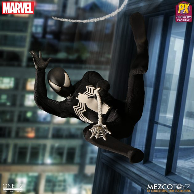 Spider-Man Black Suit One:12 Collective Action Figure - Previews Exclusive-Man_wp04