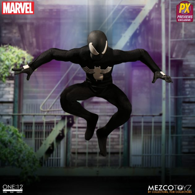 Spider-Man Black Suit One:12 Collective Action Figure - Previews Exclusive-Man_wp05