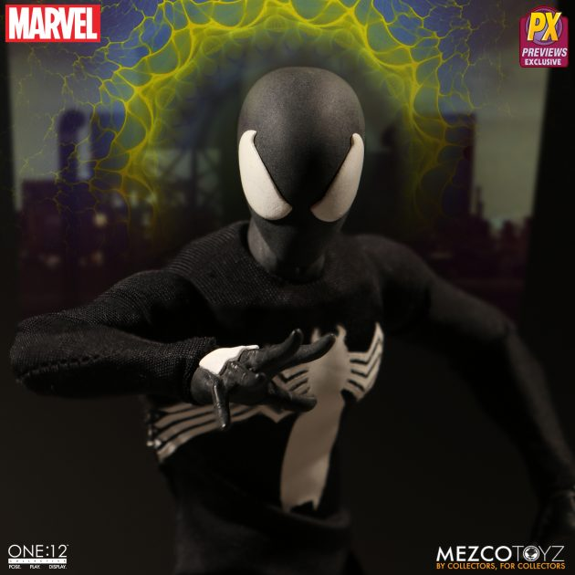 Spider-Man Black Suit One:12 Collective Action Figure - Previews Exclusive-Man_wp06