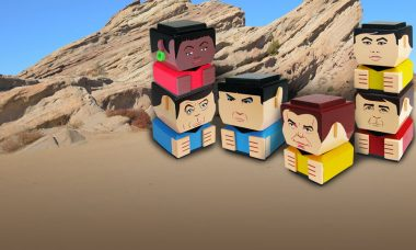 New Star Trek Tiki Tiki Totem™ Stackable Wooden Figures