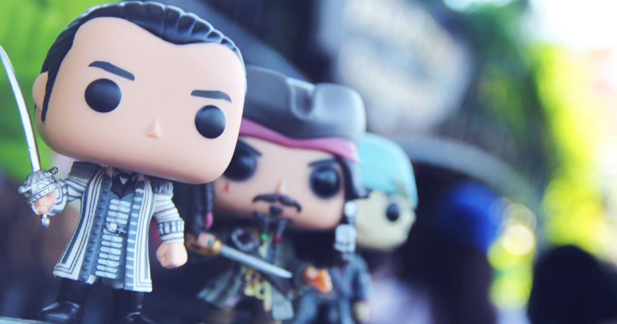 Dead Men Tell No Tales Pop! Vinyl Figures