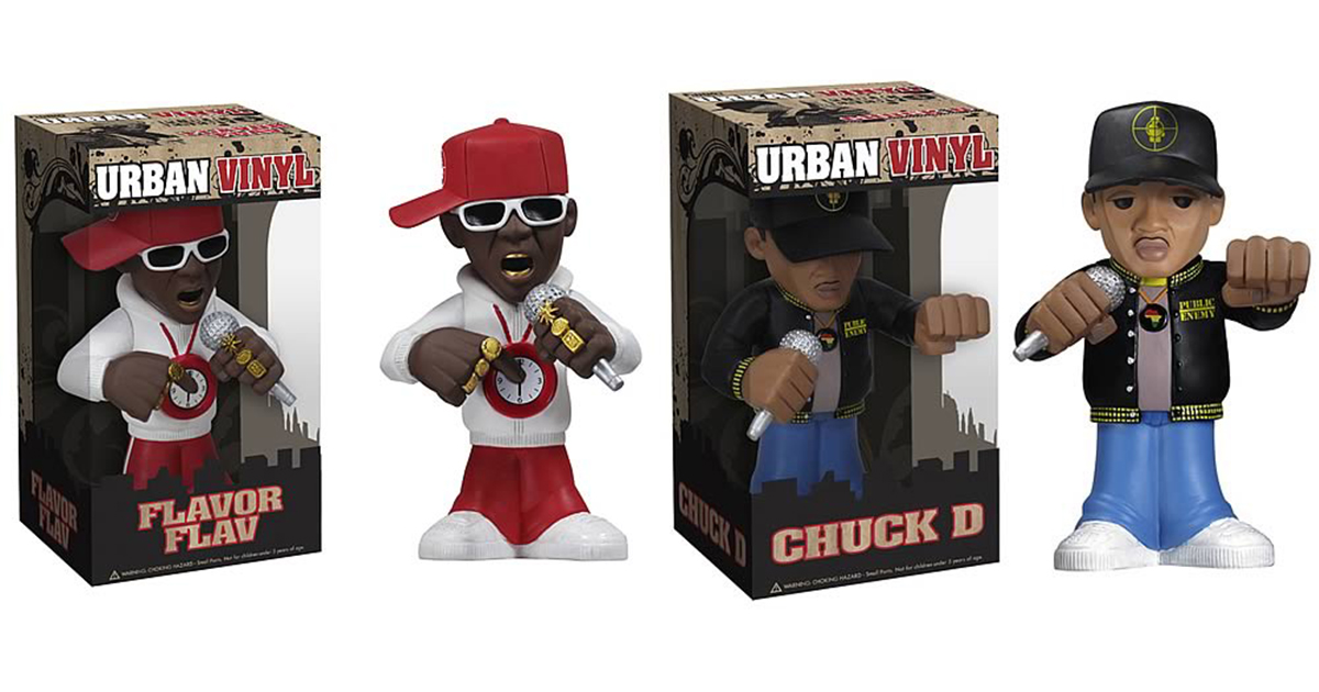 Public Enemy Urban Vinyl Figures