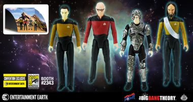 Celebrate 30 Years of Star Trek: The Next Generation with The Bakersfield Expedition Action Figures