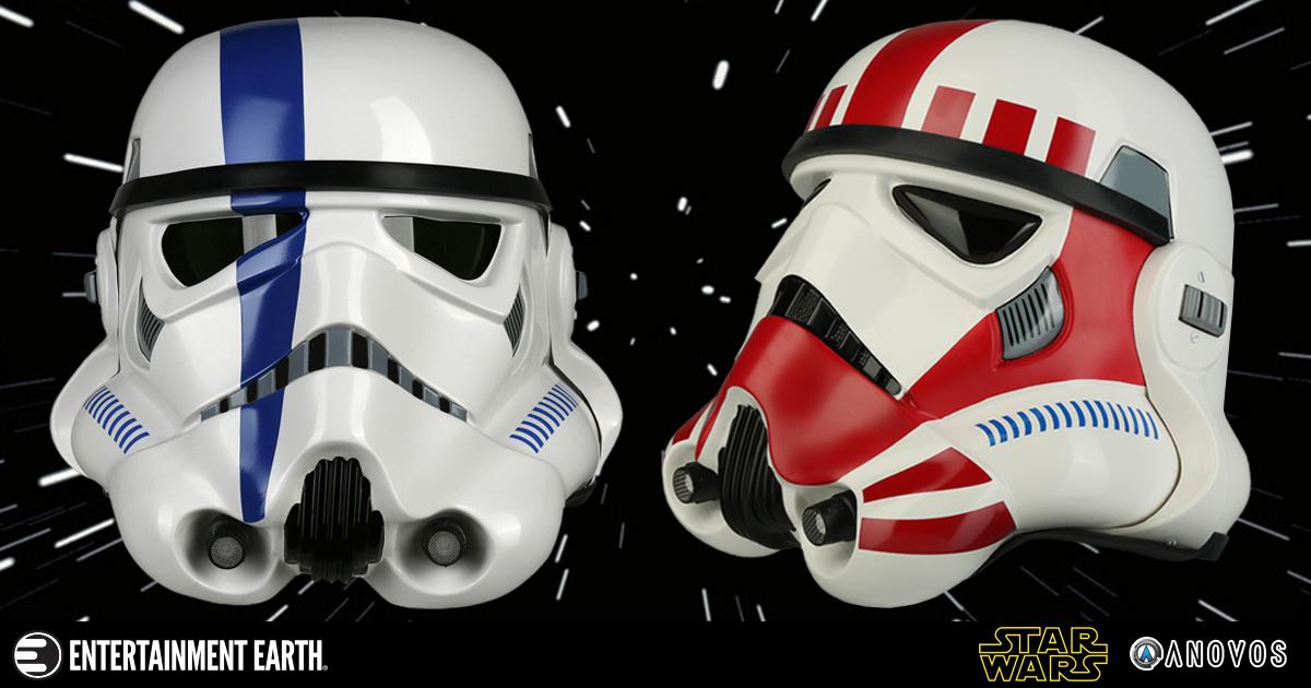 Anovos Stormtrooper Helmet Prop Replicas