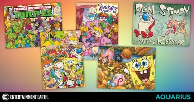 90s Cartoon Puzzles