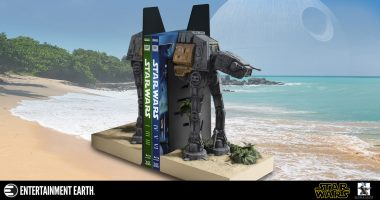 Guard Your High Security Data or Book Collection with This AT-ACT Bookend Statue