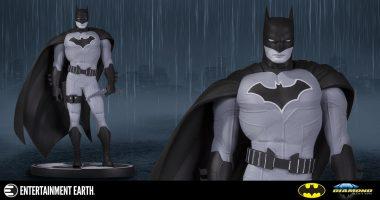 Quintessential Batman Artist Adds His Design to Batman Black and White Statue Line